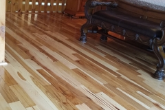 PREFINISHED HICKORY NATURAL MILL RUN