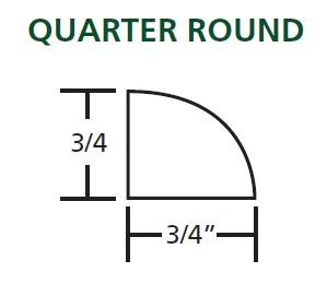 Quarter Round Sketch